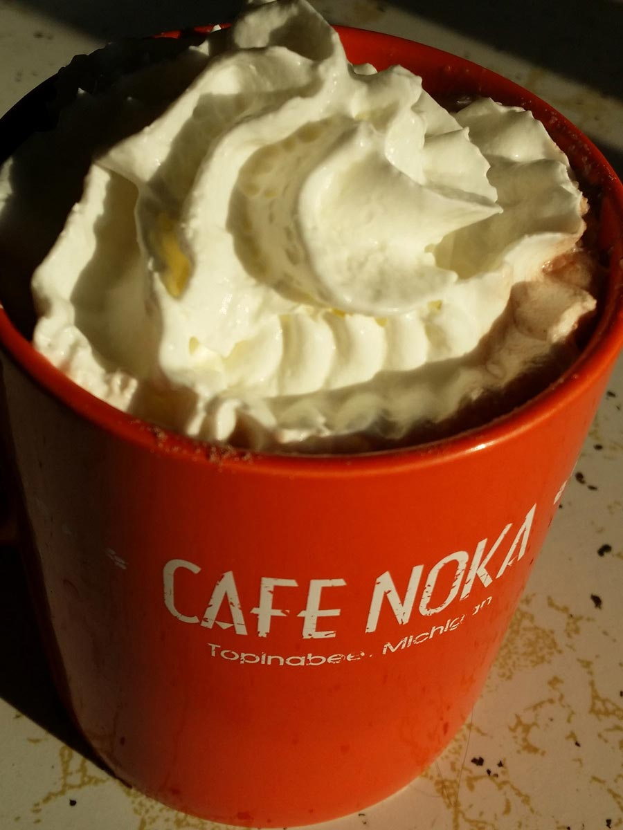 coffee at cafe noka